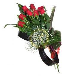 7 roses medium stemmed