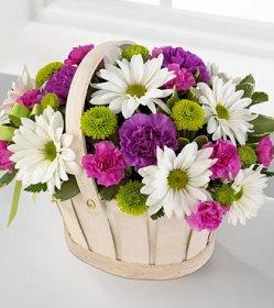 Şirin Çiçek Sepeti