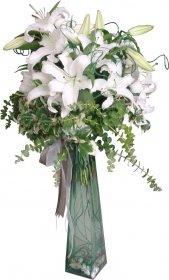 Beyaz Lilyum Aranjmanı