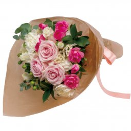 Bouquet in pink shade