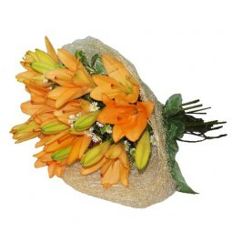 Bunch Of Lilies - Orange