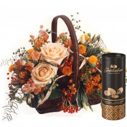 Charming Jewel with Gottlieber cocoa almonds