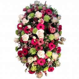 Renkli Cenaze Aranjmanı