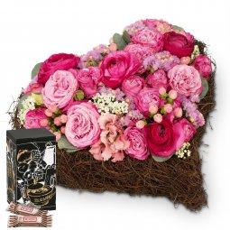 Dearest Heart with Minor Split in trendy gift tin