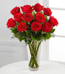 E2-4305 The Long Stem Red Rose Bouquet by FTD® - V