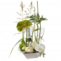 Exciting Flower Surprise with Prosecco Albino Arma