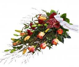 Cenaze İçin Serpme Çiçek
