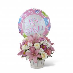 Girls Are Great! Bouquet - Basket Included