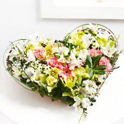 Heartshape arrangement