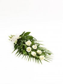 SIMPLE ROSE SHEAF - WHITE