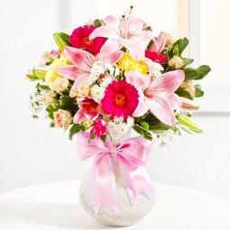 Surprise Bouquet in Pink colours