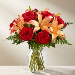 The FTD Fall Fire Bouquet