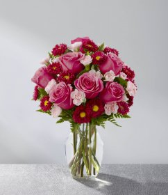 The Precious Heart™ Bouquet by FTD® - VASE INCLUDE