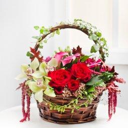 Özel Çiçek Sepeti