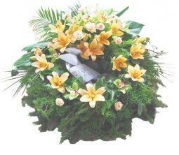 Wreath of yellow